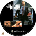 In the Line of Fire (1993) R1 Custom Label