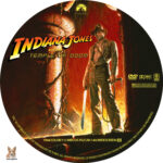 Indiana Jones and the Temple of Doom (1984) R1 Custom Labels