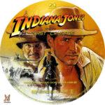 Indiana Jones and the Last Crusade (1989) R1 Custom labels