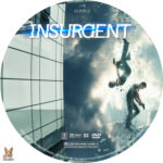 Insurgent (2015) R1 Custom dvd label