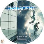 Insurgent (2015) R1 Custom dvd label