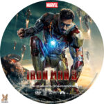 Iron Man 3 (2013) R1 Custom label