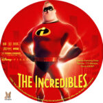 The Incredibles (2004) R1 Custom Labels