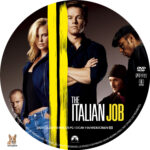 The Italian Job (2003) R1 Custom Label