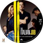 The Italian Job (2003) R1 Custom Label