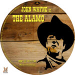 The Alamo (1960) R1 Custom DVD Label
