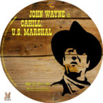 Cahill: U.S. Marshal (1973) R1 Custom Label