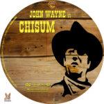 Chisum (1970) R1 Custom label