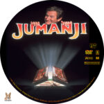 Jumanji (1995) R1 Custom label