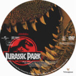 Jurassic Park (1993) R1 Custom Label
