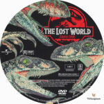 Jurassic Park: The Lost World (1997) R1 Custom Label