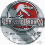 Jurassic Park III (2001) R1 Custom Label