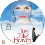 Just Like Heaven (2005) R1 Custom Label