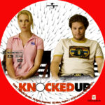 Knocked Up (2007) R1 Custom label