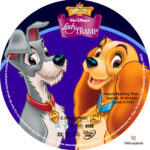 Lady and the Tramp (1955) R1 Custom Labels