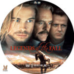Legends of the Fall (1994) R1 Custom Label