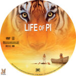 Life of Pi (2012) R1 Custom Labels
