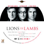 Lions for Lambs (2007) R1 Custom label