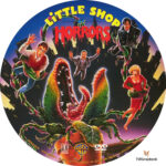 Little Shop of Horrors (1986) R1 Custom Label