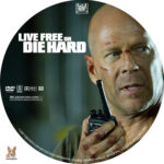 Live Free or Die Hard (2007) R1 Custom Labels