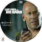 Live Free or Die Hard (2007) R1 Custom Labels