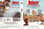 Asterix im Land der Götter (2014) R2 German Cover & label