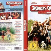 Asterix und Obelix Gegen Caesar (1999) R2 German Cover & label