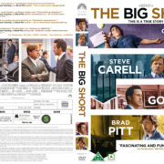 The Big Short (2015) R2 DVD Nordic Cover