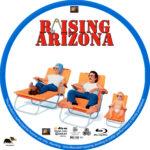 Raising Arizona (1987) R1 Custom Blu-Ray Label