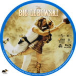 The Big Lebowski (1998) R1 Custom Blu-Ray Label