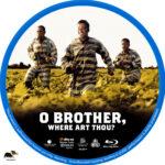 O Brother, Where Art Thou? (2000) R1 Custom Blu-Ray Label