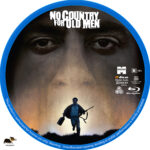 No Country for Old Men (2007) R1 Custom Blu-Ray Label