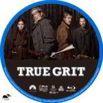 True Grit (2010) R1 Custom Blu-Ray Label