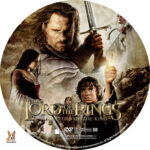 The Lord of the Rings:The Return of the King (2003) R1 Custom Labels