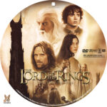The Lord of the Rings:The Two Towers (2002) R1 Custom Labels