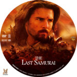 The Last Samurai (2003) R1 Custom label