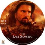 The Last Samurai (2003) R1 Custom label