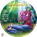 The Lion King 1 1/2 (2004) R1 Custom Labels