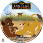 The Lion KIng II: Simba's Pride (1998) R1 Custom Labels