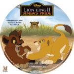 The Lion KIng II: Simba's Pride (1998) R1 Custom Labels