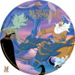 The Little Mermaid II (2000) R1 Custom Labels
