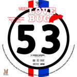 The Love Bug (1969) R1 Custom Labels