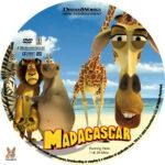 Madagascar (2005) R1 Custom Labels