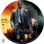 Man on Fire (2004) R1 Custom Labels