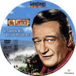 McLintock! (1963) R1 Custom DVD Label