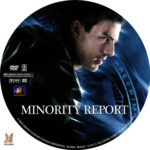 Minority Report (2002) R1 Custom Labels