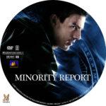 Minority Report (2002) R1 Custom Labels