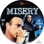 Misery (1990) R1 Custom Labels