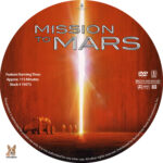 Mission to Mars (2000) R1 Custom Label