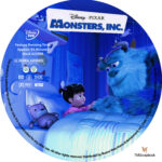 Monsters, Inc. (2001) R1 Custom Labels